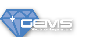 GEMS - Gillett Estate Management Suite